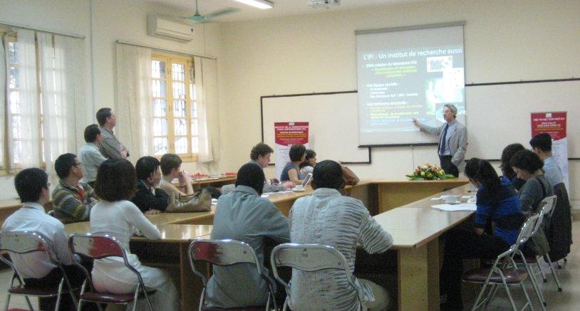 Học bổng sau tiến sĩ tại Viện Quốc tế Pháp ngữ